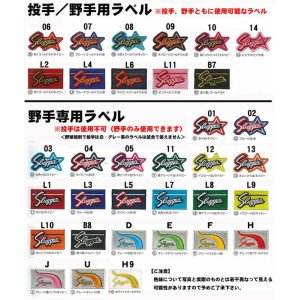 画像3: 久保田スラッガーのグラブラベル交換